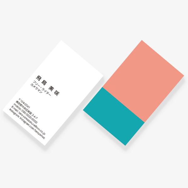 2TONE No.04 春 FRAMART ROSE×BLEU CIEL JP 両面
